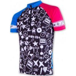 Sensor Męska Koszulka Rowerowa Cyklo Priority Black. Czarne odzież rowerowa męska Sensor, m. Za 189,00 zł.