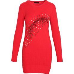 Czerwona Sukienka Ocean of Dreams. Czerwone sukienki Born2be, l, z dzianiny. Za 59,99 zł.