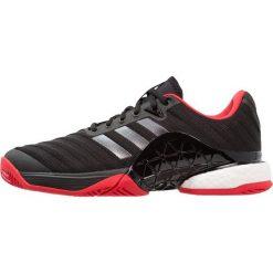 Adidas Performance BARRICADE 2018 BOOST Obuwie multicourt core black/night metallic/scarlet. Czarne buty do tenisa męskie adidas Performance, z gumy. Za 699,00 zł.