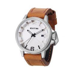 """Zegarki męskie: Zegarek """"X3007B"""" w kolorze jasnobrązowo-srebrnym"""