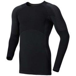 Odlo Koszulka męska l/s crew neck Evolution X-warm czarna r. XL. Szare koszulki sportowe męskie marki Odlo. Za 263,67 zł.
