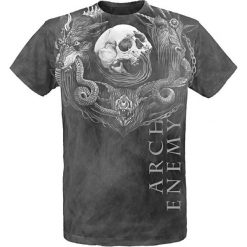 T-shirty męskie: Arch Enemy Will To Power T-Shirt ciemnoszary