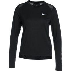 Nike Performance DRY MILER  Koszulka sportowa black/reflective silver. Czarne topy sportowe damskie marki Nike Performance, s, z materiału. Za 149,00 zł.