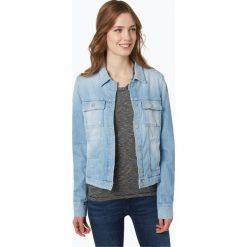 Bomberki damskie: Marc O'Polo - Damska kurtka jeansowa, niebieski
