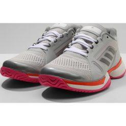 Buty sportowe damskie: adidas Performance SMC BARRICADE Obuwie multicourt grey/white/radora