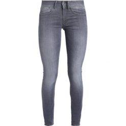Rurki damskie: GStar LYNN MID SUPER SKINNY Jeans Skinny Fit grey denim