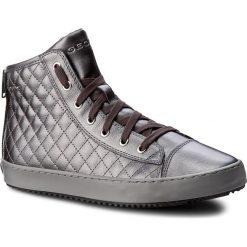 Sneakersy GEOX - J Kalispera G.F J744GF 000NF C1115 D Graphite. Szare buty sportowe chłopięce Geox, z materiału, na sznurówki. W wyprzedaży za 209,00 zł.