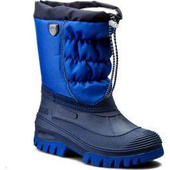 Buty zimowe chłopięce: Śniegowce CMP – Kids Hanki 3Q48064J Navy M870