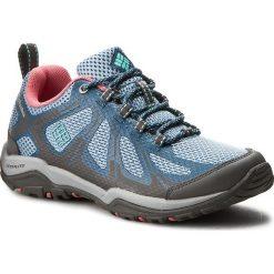 Trekkingi COLUMBIA - Peakfreak Xcrsn II Xcel W BL4553 Dark Mirage/Aquarium 411. Niebieskie buty trekkingowe damskie Columbia. W wyprzedaży za 259,00 zł.
