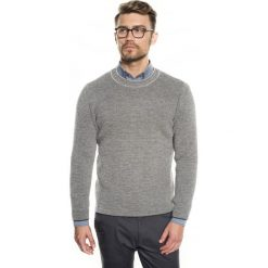 Sweter farley półgolf szary. Szare swetry klasyczne męskie marki Recman, m, z długim rękawem. Za 219,00 zł.