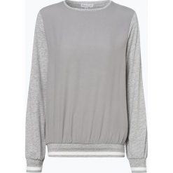 Marie Lund - Damska koszulka z długim rękawem, szary. Szare bluzki sportowe damskie Marie Lund, l, prążkowane, z kontrastowym kołnierzykiem, z długim rękawem. Za 129,95 zł.