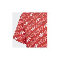 T-shirty z krótkim rękawem Dziecko  adidas  Koszulka Trefoil Monogram. Czerwone bluzki dziewczęce z krótkim rękawem Adidas. Za 99,95 zł.