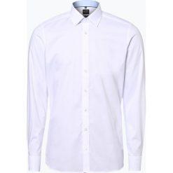 Koszule męskie na spinki: Olymp Level Five - Koszula męska łatwa w prasowaniu, czarny