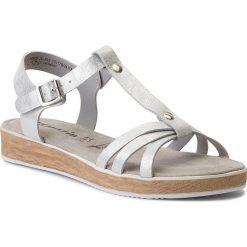 Rzymianki damskie: Sandały TAMARIS – 1-28605-20 Silver Metall. 933