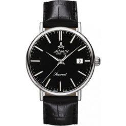 Zegarek Atlantic Męski Seacrest 50354.41.61 Szafirowe szkło czarny. Czarne zegarki męskie Atlantic, szklane. Za 1222,99 zł.