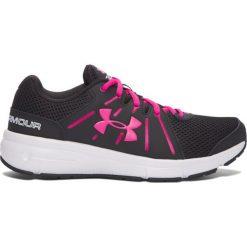 Buty sportowe damskie: Under Armour Buty damskie Dash Running 2 czarno-różowe r. 38.5 (1285488-003)