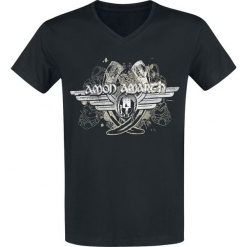 Amon Amarth Horns T-Shirt czarny. Czarne t-shirty męskie Amon Amarth, xxl. Za 79,90 zł.