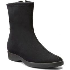 Botki HÖGL - GORE-TEX 4-102856 Schwarz 0100. Czarne buty zimowe damskie marki HÖGL, z materiału. W wyprzedaży za 399,00 zł.