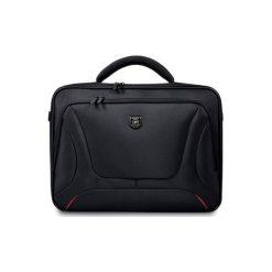 """Courchevel Clamshell 17.3"""" Torba PORT DESIGNS. Brązowe torby na laptopa Port Designs, w paski, duże. Za 149,00 zł."""