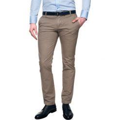 Spodnie loders 215 beż slim fit. Szare rurki męskie Recman. Za 139,99 zł.