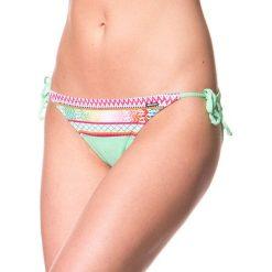 """Stroje kąpielowe damskie: Figi bikini """"Sarpaccio"""" w kolorze miętowym ze wzorem"""