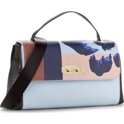 Torebka LIU JO - Cartella Grande Ren N67155 E0204 Sky 54008. Niebieskie kuferki damskie marki Liu Jo. W wyprzedaży za 349,00 zł.