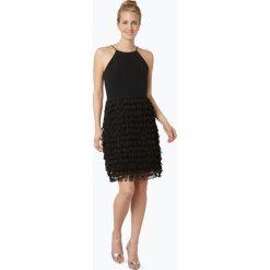 Marie Lund - Damska sukienka koktajlowa, czarny. Sukienki małe czarne Marie Lund, z krótkim rękawem. Za 299,95 zł.