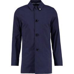 Płaszcze męskie: Noose & Monkey LYON Krótki płaszcz navy