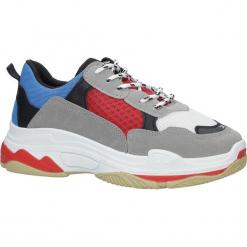 Szare buty sportowe na koturnie Casu D1901-L65. Czarne buty ślubne damskie marki Casu. Za 49,99 zł.