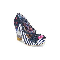 Czółenka Irregular Choice  WANDERLUST. Niebieskie buty ślubne damskie Irregular Choice. Za 384,30 zł.