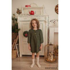 Sukienka Forest. Czerwone sukienki dziewczęce marki Pakamera, z dzianiny. Za 169,00 zł.
