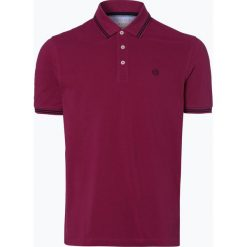 Bugatti - Męska koszulka polo, czerwony. Czerwone koszulki polo Bugatti, l, z haftami, z bawełny. Za 179,95 zł.