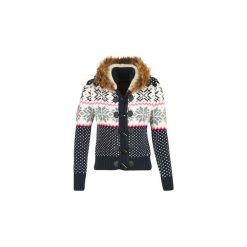 Kardigany damskie: Swetry rozpinane / Kardigany Superdry  CHALET SNOW TOGGLE