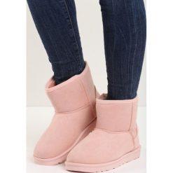 Buty zimowe damskie: Różowe Śniegowce Cutie Bunny