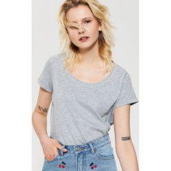 T-shirt basic - Jasny szar. Szare t-shirty męskie House, l. Za 19,99 zł.