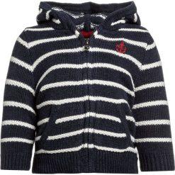 Polo Ralph Lauren HOODIE BABY Kardigan navy/white. Niebieskie swetry chłopięce marki Adidas, z kontrastowym kołnierzykiem, z krótkim rękawem. Za 269,00 zł.