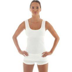 Brubeck Koszulka damska COMFORT WOOL biała r. XL (TA10170). T-shirty damskie Brubeck, xl. Za 97,33 zł.