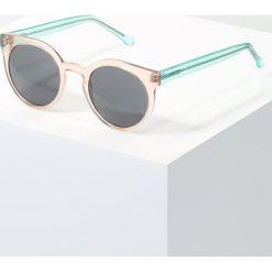 Okulary przeciwsłoneczne damskie aviatory: Komono LULU Okulary przeciwsłoneczne rose quartz
