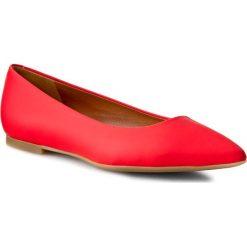 Baleriny GINO ROSSI - Ella DAG278-H75-G900-7100-0 Czerwony 33. Czerwone baleriny damskie Gino Rossi, z nubiku. W wyprzedaży za 199,00 zł.