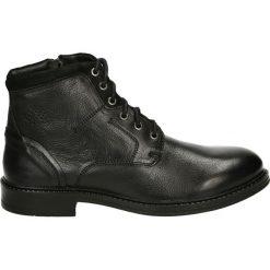 Botki męskie - 60988 BLACK. Brązowe botki męskie marki Reserved. Za 299,00 zł.