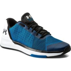 Buty UNDER ARMOUR - Ua Showstopper 1295774-899 Csb/Wht/Blk. Niebieskie buty fitness męskie marki Under Armour, z gumy. W wyprzedaży za 239,00 zł.