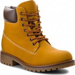Trapery JENNY FAIRY - WS722-6 Honey. Brązowe buty zimowe damskie Jenny Fairy, ze skóry ekologicznej. Za 129,99 zł.