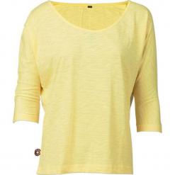 """Koszulka """"Somersault"""" w kolorze żółtym. Żółte t-shirty damskie 4funkyflavours Women & Men, l, z bawełny, z okrągłym kołnierzem. W wyprzedaży za 90,95 zł."""