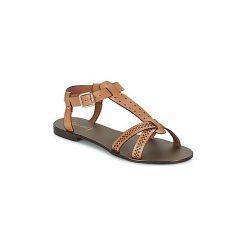Sandały Bocage  RAVELLE. Białe sandały damskie marki Bocage. Za 295,20 zł.