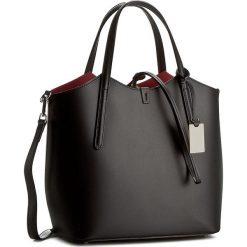 Torebka CREOLE - K10318  Czarny/Czerwony. Czarne torebki klasyczne damskie Creole, ze skóry. W wyprzedaży za 229,00 zł.