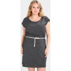 Sukienki hiszpanki: Ragwear Plus SOFIA DRESS Sukienka z dżerseju black