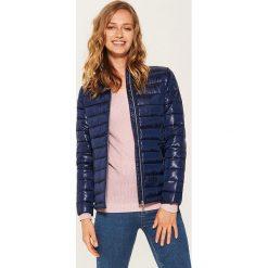 Pikowana kurtka - Granatowy. Niebieskie kurtki damskie pikowane marki House, l. Za 99,99 zł.