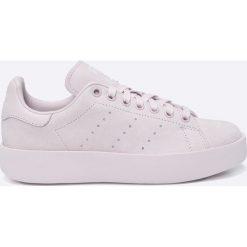Adidas Originals - Buty Stan Smith Bold. Szare buty sportowe damskie marki adidas Originals, z gumy. W wyprzedaży za 399,90 zł.