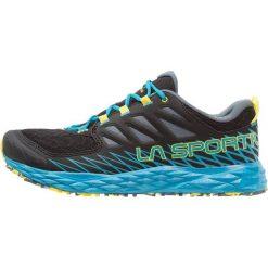 La Sportiva LYCAN Obuwie do biegania Szlak black/tropic blue. Czarne buty do biegania męskie La Sportiva, z gumy. Za 499,00 zł.