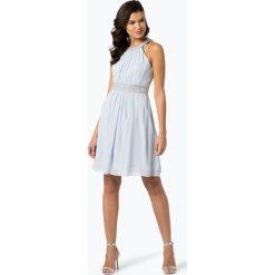 Sukienki hiszpanki: Marie Lund - Damska sukienka wieczorowa, niebieski